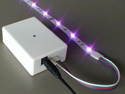 Novas formas de iluminação - LED's RGB (5/6)