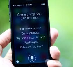 Siri, da Apple, no iOS